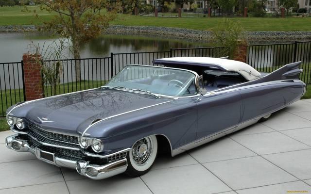 Americké, auto, Cadillac, Eldorado