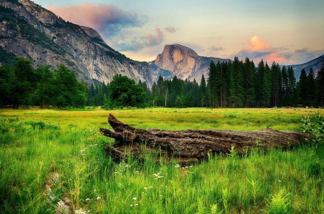 облако, горный рельеф, гора, пастбище