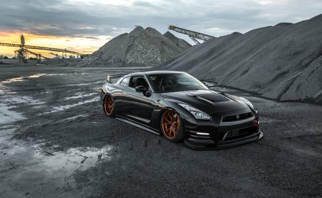 custom, nissan, GTR