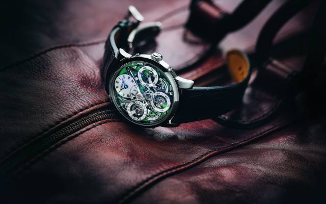 watch, time, bag