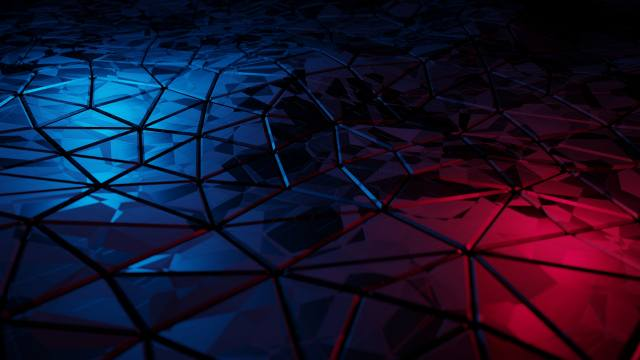 3d, Abstract, triangle, SONIXX