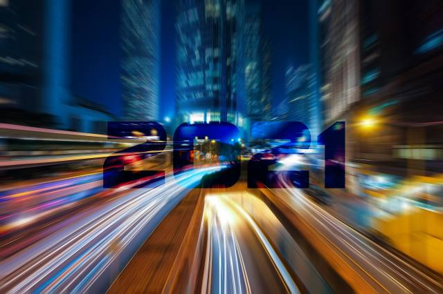 cesta, město, barvy, pohyb, 2021