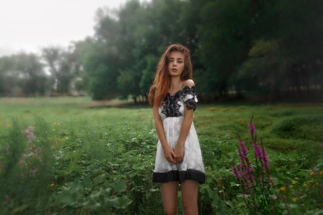 holka, v přírodě, foto, Александр Дробков