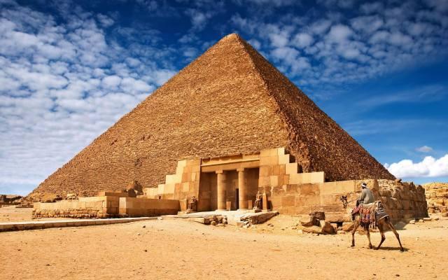 písek, duny, Egypt, Sfinga, Pyramidy