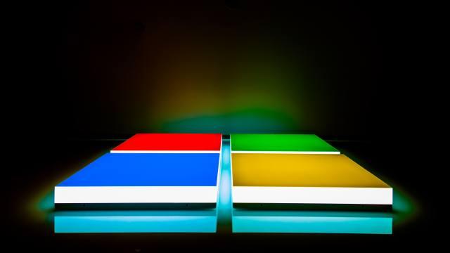 logo, microsoft, Color