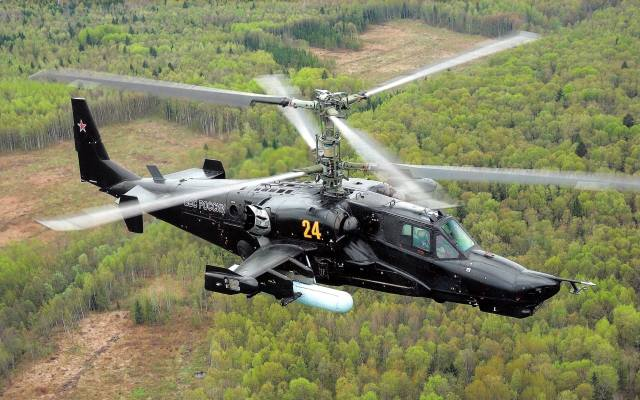 Helicopter, weapons