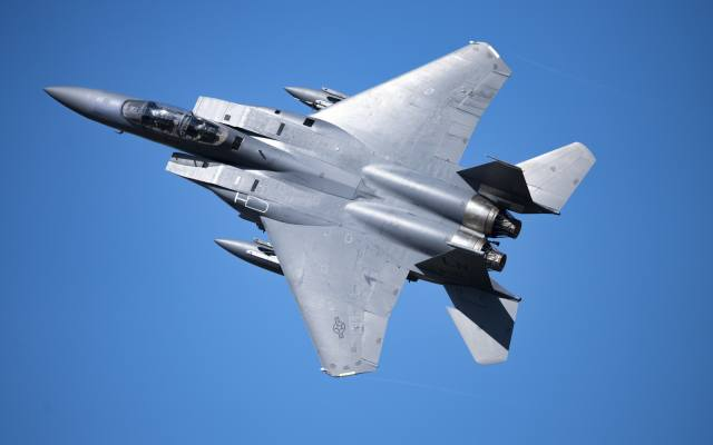 Mcdonnell, douglas, f-15e, Strike Eagle, fighter, bomber, F-15