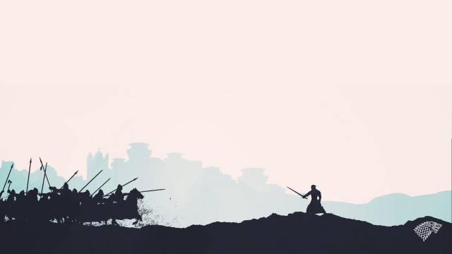 старки, играпрестолов, war, knight, The sword, horses