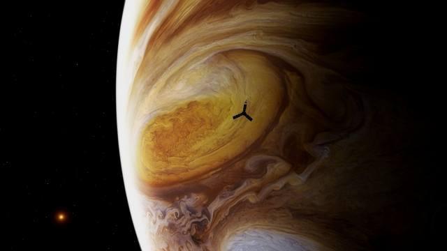 пространство искусства, Digitalart, Юпитер планета Солнечной системы