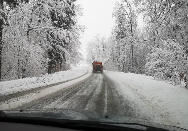 дорога, Авто, сніг