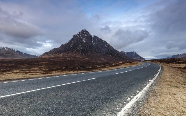 hory, cesta