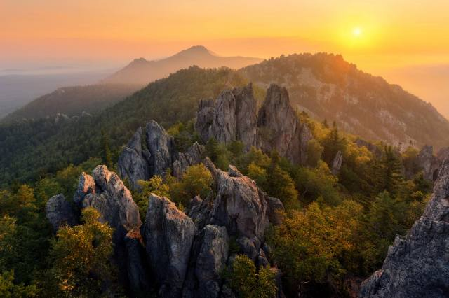 mountains, the sun, South Ural, photo, Михаил Туркеев