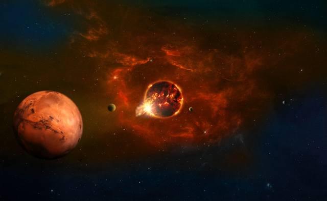 space, planet, fantasy