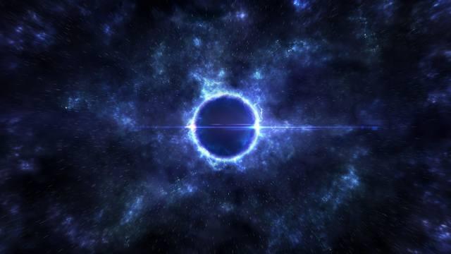 space, stars, the universe, black hole