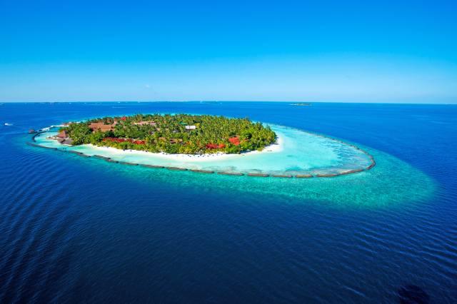 океан, Мальдіви, бунгало, природа, тропіки