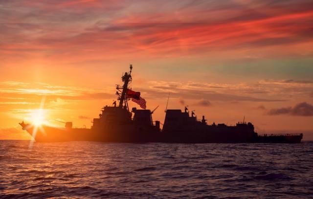 USS Paul Ignatius, эскадренный миноносец, ВМС США, захід