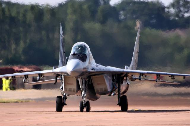 the MiG-29, Fighter, air force, польши
