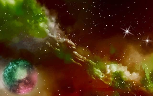 color, space, paint