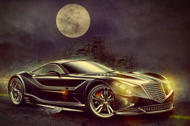 the concept, art, fantasy, Auto