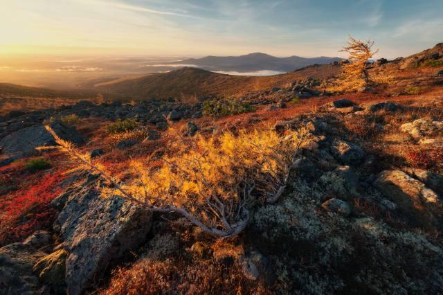 mountains, autumn, Михаил Туркеев