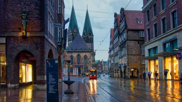 бремен, Germany, the city, landscape