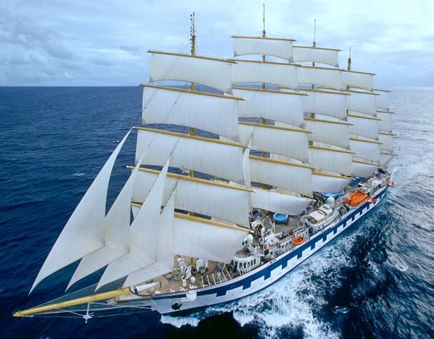 sailboat, the sky, sea