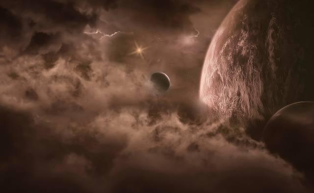 fantasy, space, theme, planet