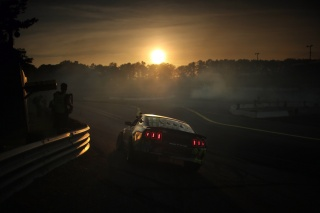 Ford, Mustang, GT500, formula, lights, drift, road, Ford, Mustang, drift, track, sunset