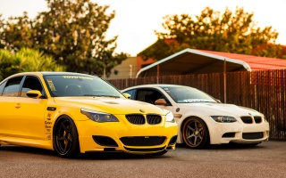 BMW, tuning, car, M3, bmw m5