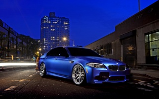 night, car, hq wallpaper, bmw m5, BMW, street