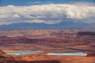 USA, Utah, canyon, valley, the sky, beauty, the lake