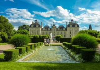France, castle, castles of the world, castles of France, beauty