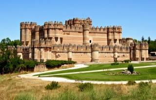 Испания, замок, замки Испании, замки мира, красота