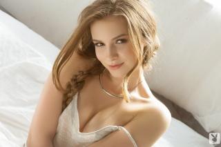 Мэнди Кэй, красивая, русая, девушка, взгляд, фотомодель, плейбой