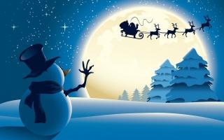 Сніговик, Різдво, білий, свято