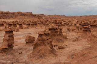 USA, Utah, canyon, Goblin valley, beauty, the wonders of nature.