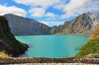 Philippines, the lake, mountains, the sky, beauty