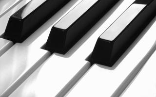 hudba, klávesy, royal, klavír, minimalismus