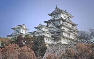 Япония, замок, замки Японии, красота