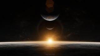 планети, зірки, схід, Схід, мирської