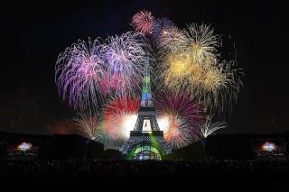 people, evening, the city, Paris, beautiful