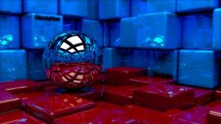 куля, куби, 3d, мистецтво