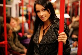 Kristina, Uhrinova, Мелиса, Лекса, Мелиса, Кристина, Ухринова, в метро, метро