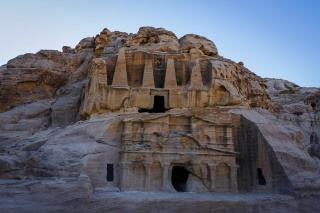 mountain, rock, architecture, the temple