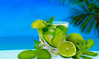 cocktail, lime, mint, Mojito, delicious