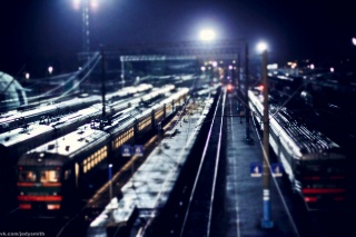 Vladimir Smith, Vladimir Smith, night, trains, Kaluga-1, station
