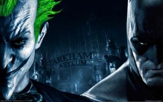 Бэтмен аркхем асилум, джокер, ворота