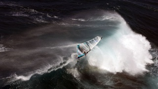 віндсерфінг, океан, води, вітер