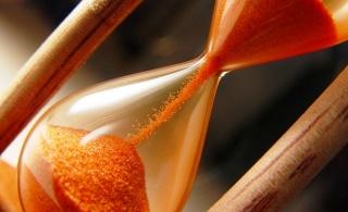 песочные часы, символ времени