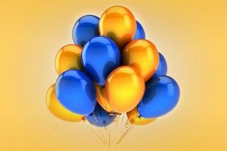 воздушные шарики, разноцветные